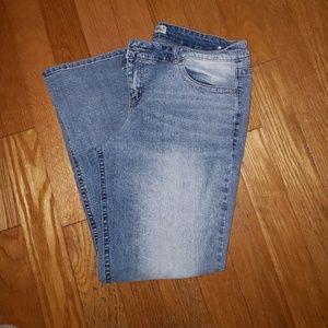 Lei Ashley low rise boot cut Jean 17
